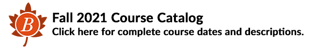 Bespoke Education Classes: Fall 2021 Course Catalog